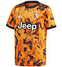 adidas Juventus Turin 20/21 Third Jersey Junior - Fußballtrikot - Kinder, Orange