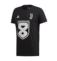 adidas Juventus 8 Win 2019 T-shirt - Fußballtrikot - Herren, Black