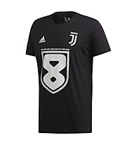 adidas Juventus 8 Win 2019 Young - t-shirt calcio - bambino, Black
