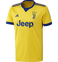 Adidas Juventus Turin Auswärtstrikot 2017/2018 Replica Jersey - Fußballtrikot - Herren, Yellow/Blue