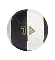 adidas Juventus Capitano - pallone da calcio, Black/White/Gold