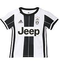 Adidas Juventus Home Mini Kit - completo calcio bambino, White/Black