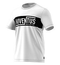 adidas Juventus Street Graphic Tee - Fußballtrikot - Herren, White/Black