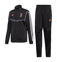 adidas Juventus Suit - Trainingsanzug - Herren, Black