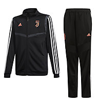 adidas Juventus Suit Young - Trainingsanzug - Kinder, Black