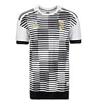 adidas Juventus Turin Home Pre-Match - Fußballtrikot Aufwärmen 2018 - Herren, White/Black