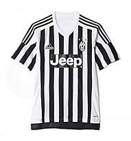 Adidas Juventus Turin Replica Spieler-Heimtrikot 2015/16, Black/White