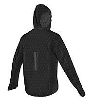 Adidas Kanoi Transparent Laufjacke, Black