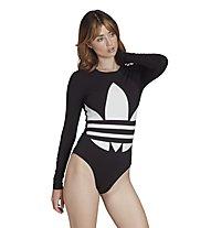 adidas Originals Large Body - body intimo - donna, Black/White