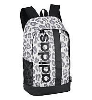 adidas Linear Backpack Leopard - Daypack, Black/Animalier