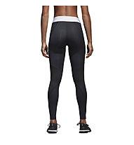 adidas Logo Long - pantaloni fitness - donna, Black
