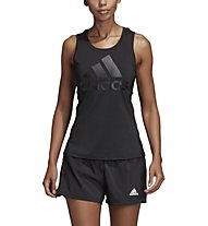 adidas Logo Tank - Top Training - Damen, Black