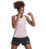adidas Logo - top fitness - donna, Pink