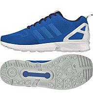 Adidas Low ZX Flux - Adidas Originals Freizeitschuh Herren, Blue