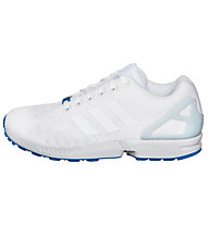 Adidas Originals Low ZX Flux - Adidas Originals Sneaker Herren, White/Blue