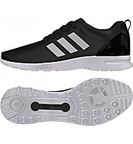 Adidas Originals Low ZX Flux Smooth W Scarpe tempo libero donna, White/Black