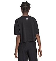 adidas Originals Big Trefoil Tee - T-Shirt - Damen, Black