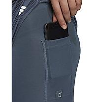 adidas M20 2in1 - pantaloni corti running - donna, Grey