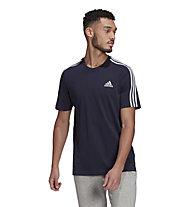 adidas 3S Essential - T-shirt - uomo , Blue