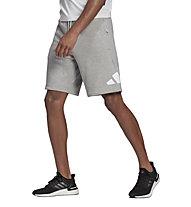 adidas M FI - Trainingshort - Herren, Grey/White