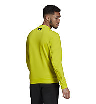 adidas M FI TT Q1 - felpa - uomo , Light Green