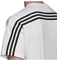 adidas Must Have 3 Stripes Tee - T-Shirt - Herren, White