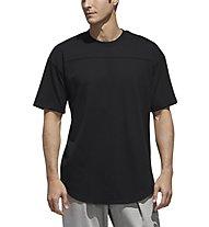 adidas M S2S 3S Tee - T-Shirt - Herren, Black