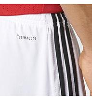 Adidas Manchester United Heim Replica - Fußballhose - Herren, White/Black