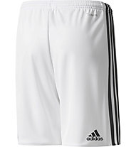 Adidas Manchester United 2017/2018  Home Replica - Fußballhose - Kinder, White/Black