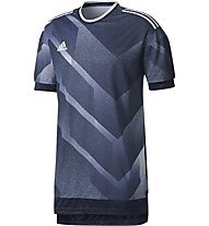 Adidas Tango Future Jersey - Fußballtrikot Herren, Dark Grey/Drak Blue