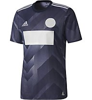 Adidas Tango Jersey - Fußballtrikot Herren, Dark Grey