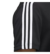 adidas Mens D2M 3S Tee - T-Shirt - Herren, Black