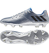 Adidas Messi 16.1 FG - scarpa da calcio, Silver/Blue