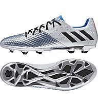 Adidas Messi 16.2 FG - scarpa da calcio, Silver/Blue