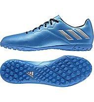 Adidas Messi 16.4 TF Hartplatz-Fußballschuhe, Blue