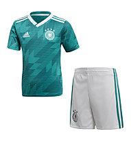 f4edf0dd82 adidas Mini Kit Away Germany - completo da calcio - bambino, Green/White/