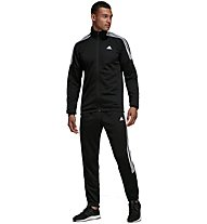 adidas Team Sports - tuta sportiva - uomo, Black