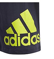 adidas Must Haves BOS - T-shirt - bambino, Dark Grey/Green