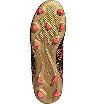 adidas Nemeziz 17.3 FG Jr - scarpe da calcio terreni compatti - bambino, Black/Red/Gold