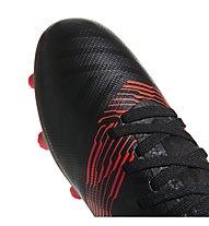 adidas Nemeziz 17.3 FG Jr - Fußballschuhe feste Böden - Kinder, Black/Red/Gold