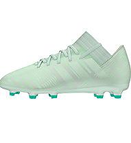 adidas Nemeziz 17.3 FG Jr - scarpe da calcio terreni compatti - bambino, Light Green