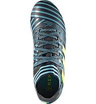 Adidas Nemeziz 17.3 FG Junior - Kinderfußballschuh für festen Untergrund, Blue/Black/Yellow