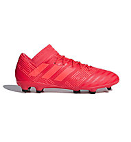 adidas Nemeziz 17.3 FG Junior - Fußballschuh feste Böden - Kinder, Red