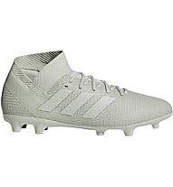 low priced 91c5e d8565 adidas Nemeziz 18.3 FG - scarpe da calcio terreni compatti, Grey