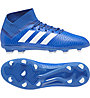 Adidas Nemeziz 18.3 FG J - scarpe calcio terreni compatti - bambino, Blue