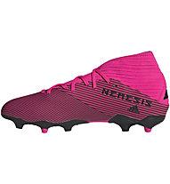 adidas Nemeziz 19.3 FG - scarpe da calcio terreni compatti, Fucsia