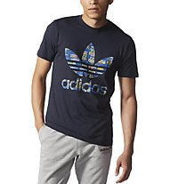 Adidas Originals Trefoil Tee T-Shirt, Blue