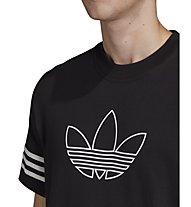 adidas Originals Outline Tee - T-shirt - Herren, Black