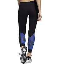 adidas Own The Run - Laufhose lang - Damen, Black/Blue