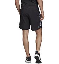adidas Own The Run - Laufhose kurz - Herren, Black